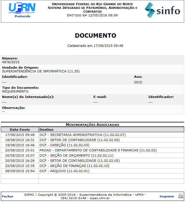 Figura 6: Documento