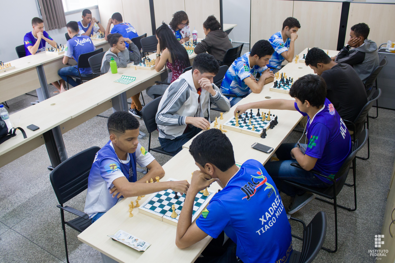 Campus Tarauacá leva medalha de ouro no xadrez feminino